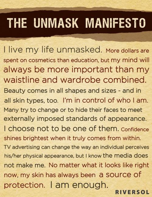 Theunmaskedmanifesto